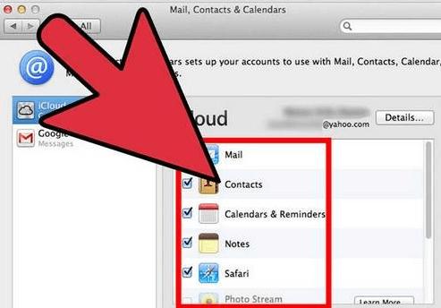 Retirer iCloud sur Mac