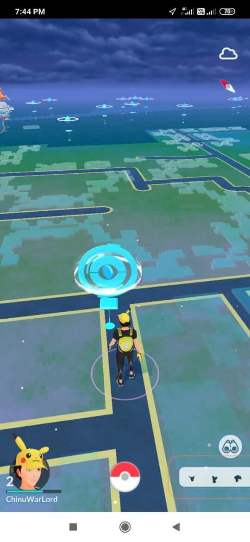 fausse localisation sur pokemon aller facilement