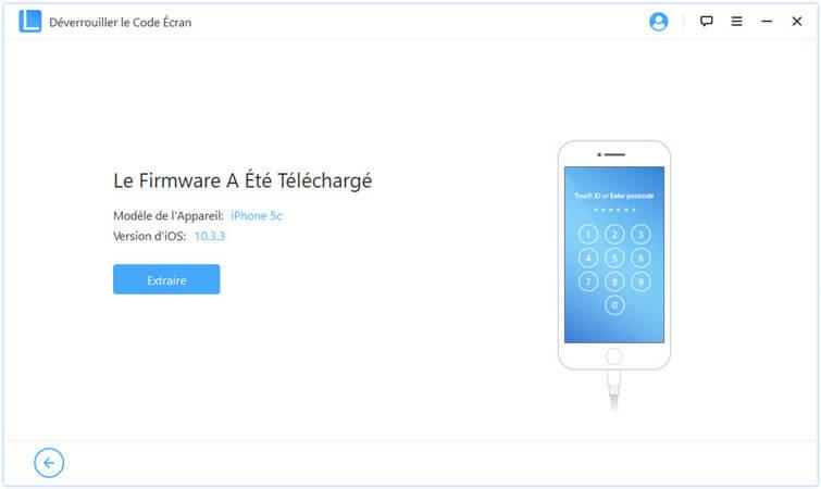 télécharger le paquet de firmware pour l'iphone désactivé