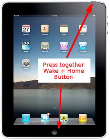réinitialisation matérielle iPad