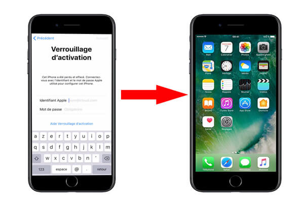 Contourner le verrouillage d'activation de Localiser mon iPhone sans propriétaire précédent