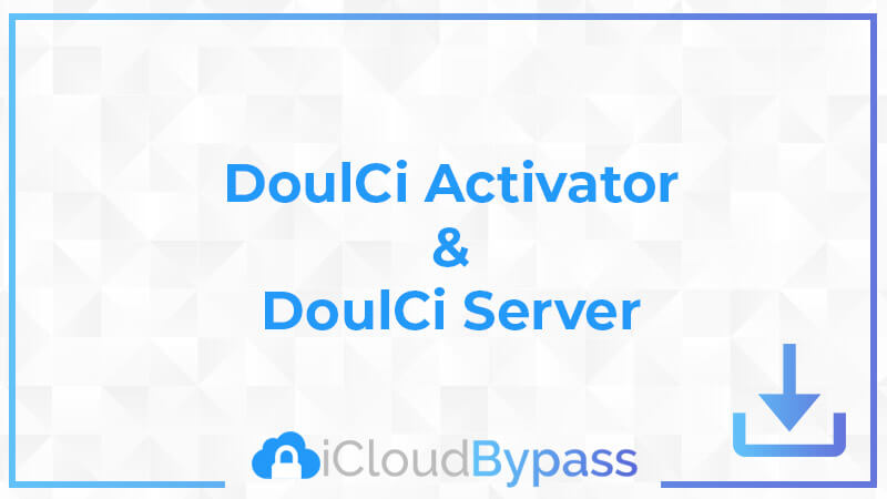 Doulci Aviator - outil de suppression du compte iCloud
