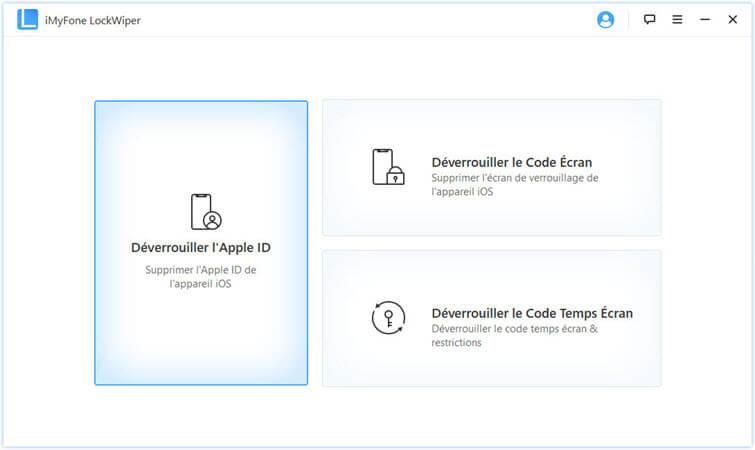 la capture d'écran d'iMyFone LockWiper
