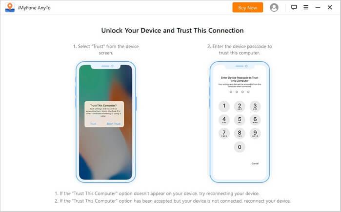 connecter votre appareil au pc