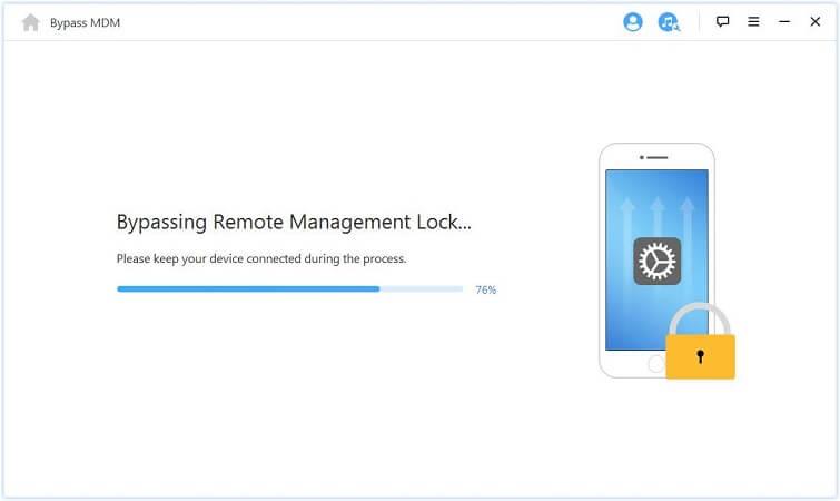 iMyFone-LockWiper commence à supprimer