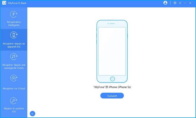 connectez votre appareil