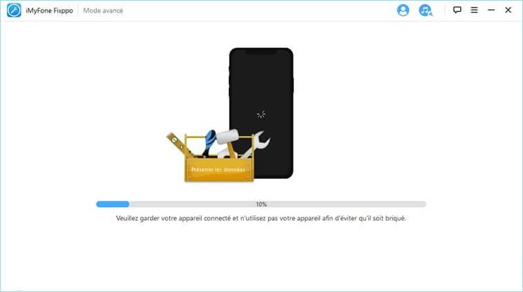 réinitialisation à l'état d'usine iPhone 7