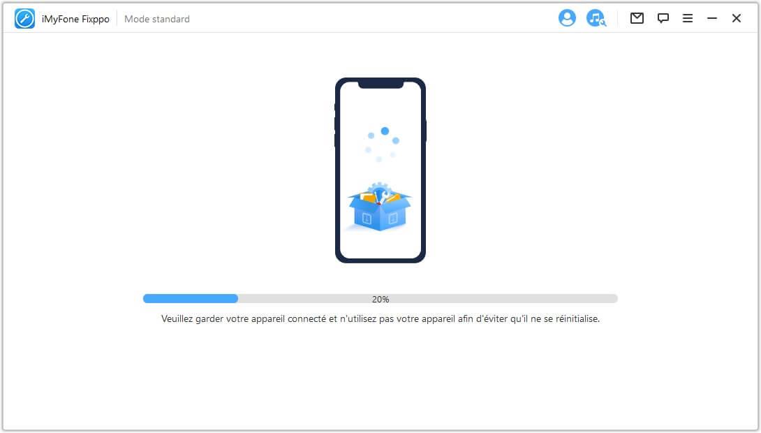 régler le problème de mise à jour iOS