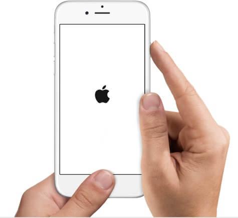 redémarrage forcé iPhone 6