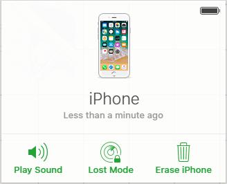 iCloud réinitialise le mot de passe iphone