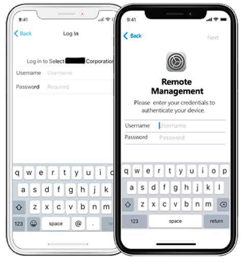 Verrouillage MDM sur iPhone
