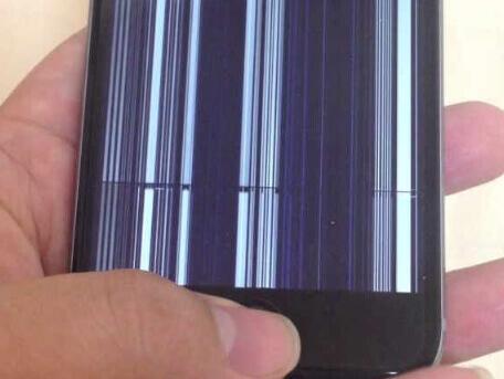 clignotement d'écran d'iphone