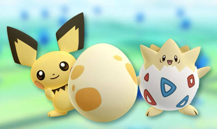 oeufs dans Pokémon GO