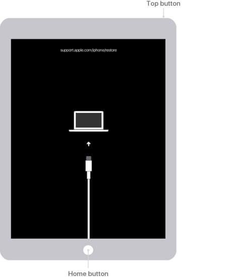 rendre votre ipad mini en mode récupération