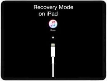 réinitialiser un ipad avec le mode récupération