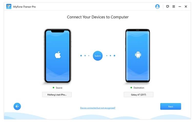connectez vos appareils à l'ordinateur