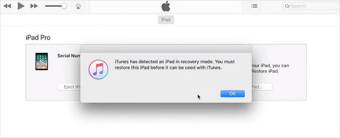 restaurer l'iPhone avec iTunes