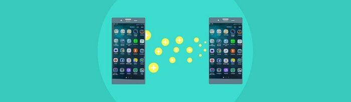 transférer les applications d'un android à un autre android
