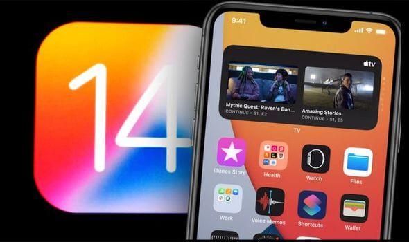 mise à jour 14 d'iOS qui s'arrête au milieu