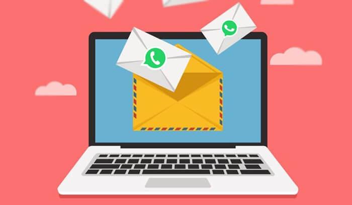 sauvegarder et restaurer des messages WhatsApp par e-mail