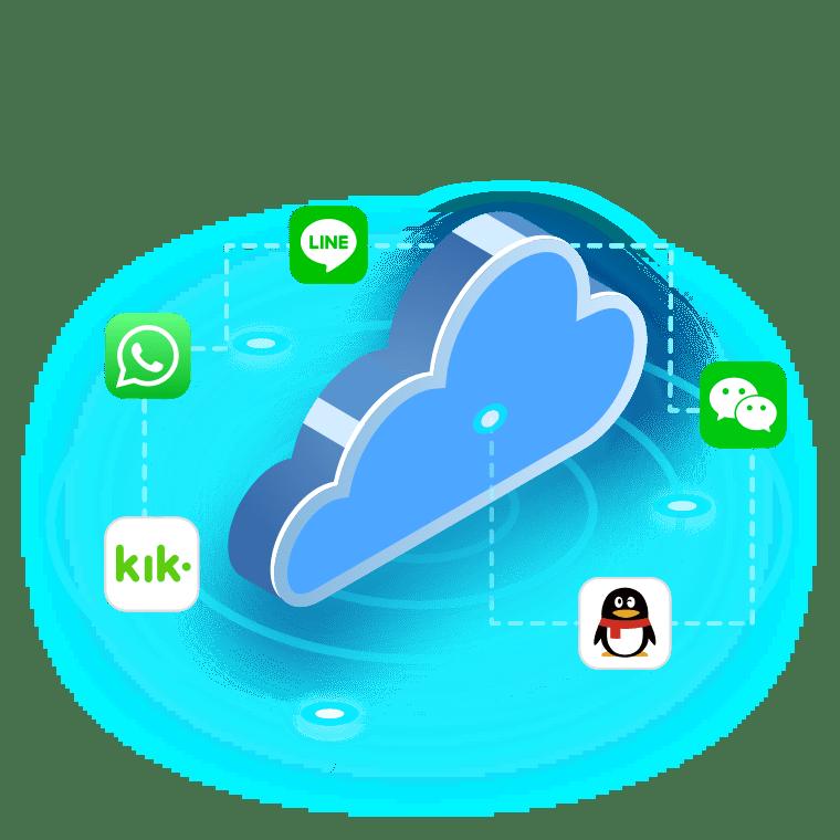 récupérer les données d'applications avec icloud