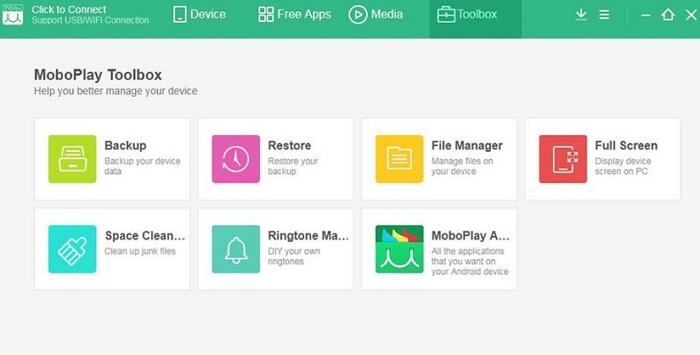 logiciel de transfert Mobo Play pour PC