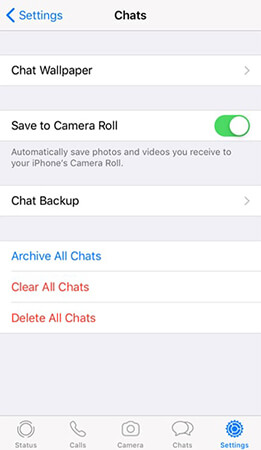 open save to camera roll on iphone