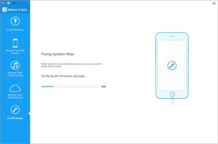 repairing the iOS system