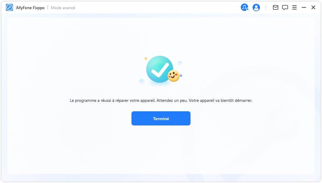 réparer votre iOS