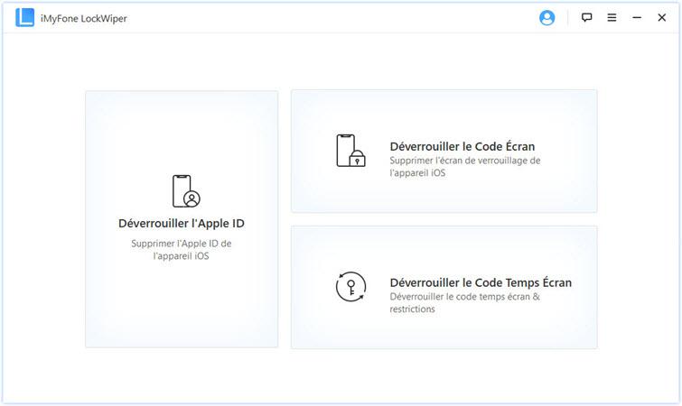 supprimer iphone Apple ID et le verrouillage écran