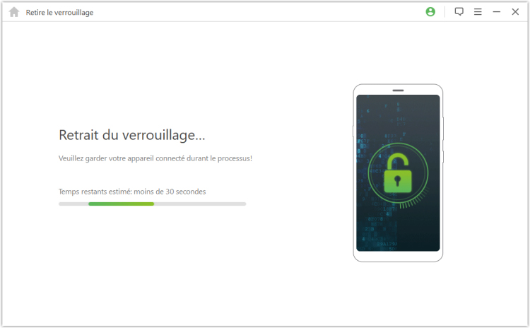 unlocking Android screen lock