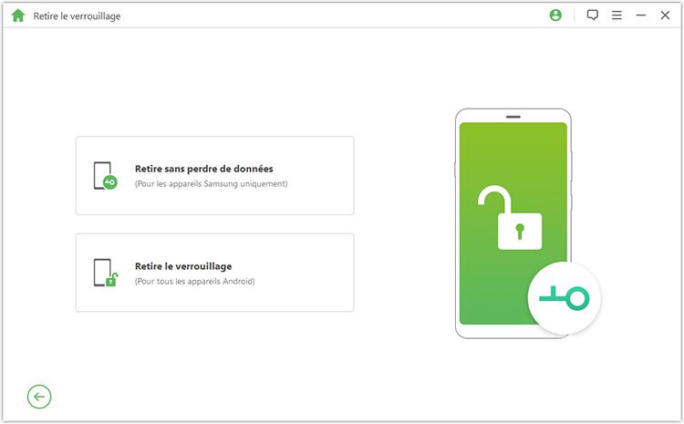remove screen lock home page