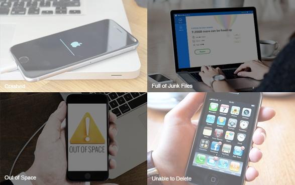 umate pro nettoyer iphone