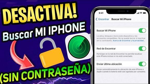 desactivar find my iphone sin contraseña