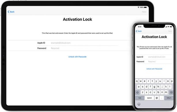omitir el bloqueo de activación en ipad