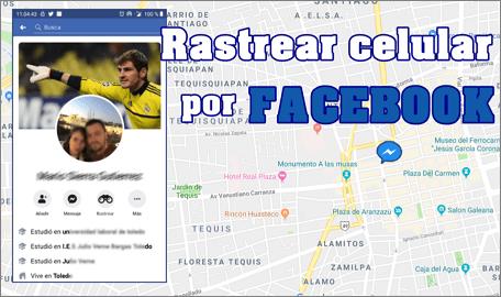 Localizar teléfono por facebook