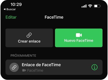 Nuevo Facetime