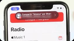 Compartir musica con otros en FaceTime