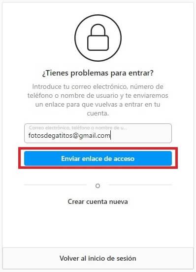 introducir tu correo electronico