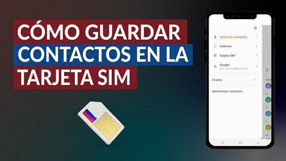 como exportar contactos iPhone a SIM