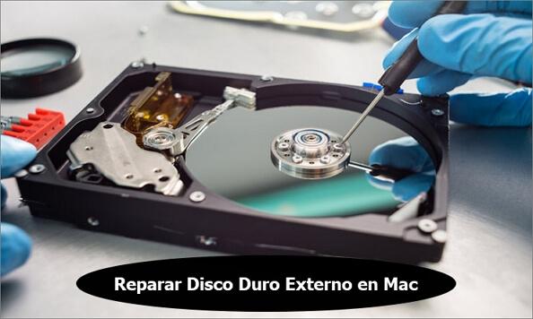 reparar disco duro mac