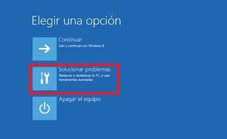resolver problemas windows