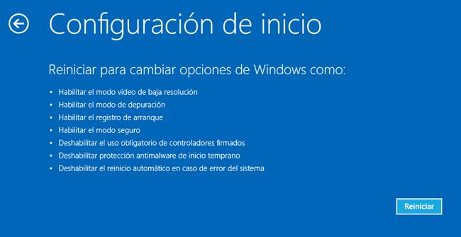 Reiniciar Windows