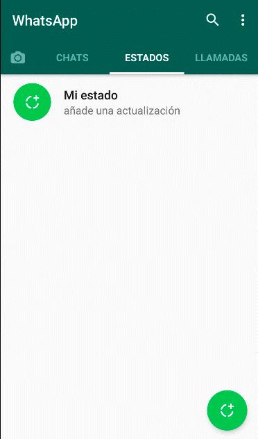 crear estado en Whatsapp