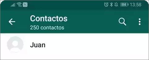 No puedes ver la foto de perfil de tu contacto