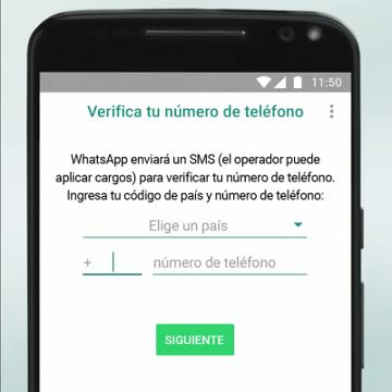 crear tu cuenta adicional de WhatsApp