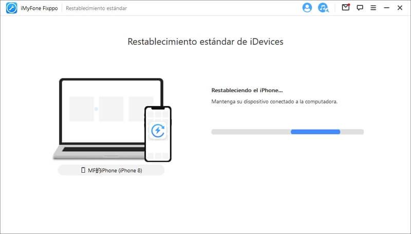 restablecer iphone