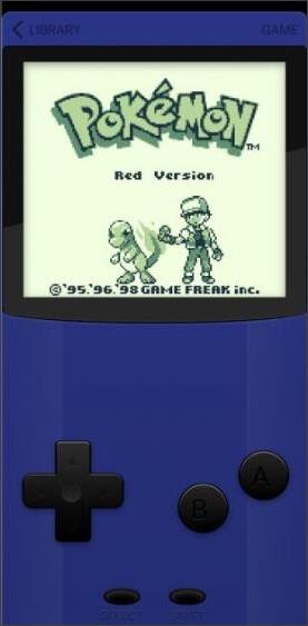 juegue al clásico juego de pokemon en game play color