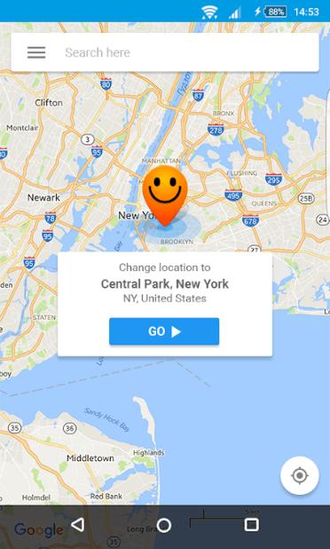 simular ubicación uber con Hola Fake GPS
