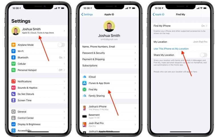 ocultar ubicación de iPhone en Encontrar a mis Amigos e iMessage